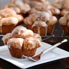 Cinnamon Bubble Buns - bubble bread made in muffin cups.
