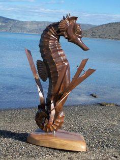 Sea horse  Artist: Nikos Manesis