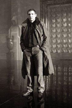 Harrison Ford in Blade Runner, 1982. - Imgur