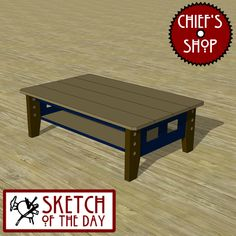 Sketch of the Day: Coffee Table