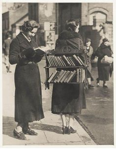 In the days before Kindle...