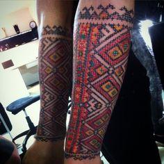 #fresh #crossstitch #tattoo #native #ukraine #hutsul #patterns by anichandrew