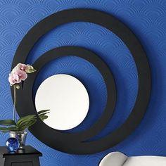 Concentric Circles Gallery Mirror
