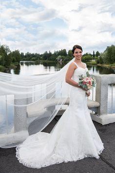Summer Weddings, Mermaid Wedding, Finland, One Shoulder Wedding Dress, Wedding Photos, Feelings, Wedding Dresses, Fashion, Moda
