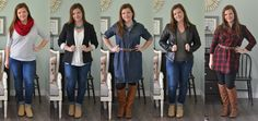 Easy Outfit Ideas for Busy Days | The DIY Mommy