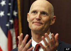 Rick Scott - FL governor IS a political absurdity - should be enough said! ..but additionally, he approved a ban on 'internet cafes' - in a bill accidentally banning all computers in FL - which is probably what social conservatives and Tea-Party wanted - they want to be the dictators of the world.