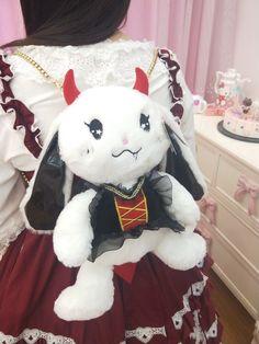 Kawaii Outfit, Kawaii Clothes, Baby Buns, Harajuku Japan, Disney Purse, Kawaii Plush, Cute Stuffed Animals, All Things Cute, Lolita Fashion