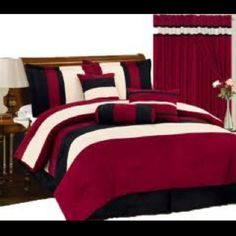 Comforter Sets, Comforters, Blanket, Bedroom, House, Furniture, Red, Home Decor, Creature Comforts