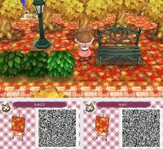 Suelo de hojas secas