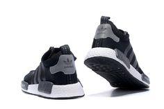 Najlepszy Adidas Originals Nmd Oryginały Szary Czarny Klasyczne Buty Do Biegania na sprzedaż