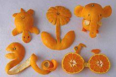food art #orange