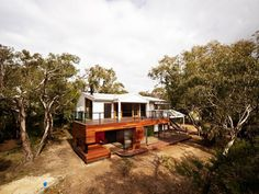 Beautiful Holiday Homes- Anglesea Beach HouseMore frequently holiday homes are becoming little more than transplanted suburban ugliness; the great Australian tradition of the 'shack' is in da... Architecture