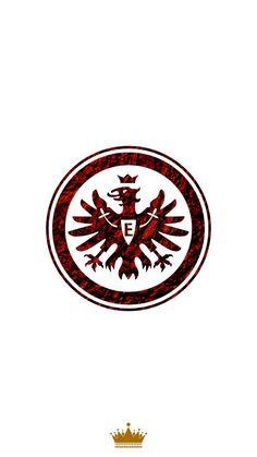 Eintracht Frankfurt wallpaper by KingGroupGraphic - - Free on ZEDGE™ German National Team, Volkswagen Logo, Team Logo, Soccer, Football, Marcel, Wallpaper, Logos, Pictures