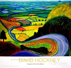 Garrowby Hill Prints by David Hockney - AllPosters.co.uk