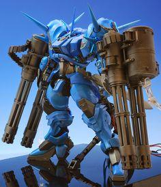 Garage Kit 1/100 YAMS-130B GREIFER Custom Build - Gundam Kits Collection News and Reviews