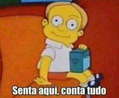 Marca sua Amiga que ama uma fofoca! Funny Text Memes, Funny Spanish Memes, Funny Texts, Memes Humor, Funny Photos, Funny Images, Little Bit, Meme Faces, The Simpsons