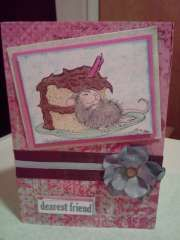 """happy birthday"" by Mary  Alfredo  on House-Mouse Designs®"