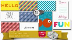 Debora's Creations: Summer card COMMERCIAL USE