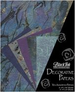 Beautiful Blues - These assorted paper packs from Thailand feature great color combinations, perfect for paper crafting, card making, book arts, collage and m...