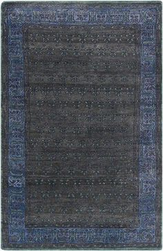 Surya Haven HVN-1223 Charcoal Hand Knotted Area Rug – Incredible Rugs and Decor
