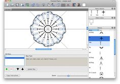 Stitch Works Software - great chart making app for crochet.