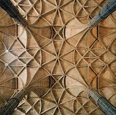 Gothic ceiling art!