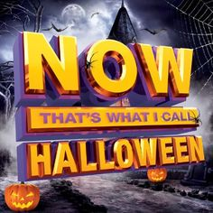 'NOW That's What I Call Halloween' CD Track List and Details #halloween
