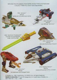 He-Man vehicles