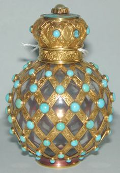 Antique scent bottle, French c1801-1900's