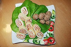 Salmon Pancake Roll