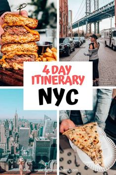 4 Days in New York Itinerary: Ultimate NYC Guide by a Local New York Travel Guide, New York City Travel, New York City Guide, Nyc Itinerary, Upstate New York, Lower Manhattan, Lake George, United States Travel, North America