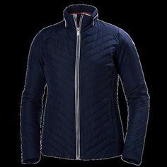 Helly Hansan Mens W Crew Insulator Jacket Evening Blue - M    eBay