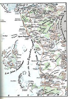 Mapa Costa de La Espada