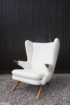 Yes please...an original Danish 'Papa Bear' chair, designed in 1956 by Svend Skipper.