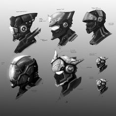 Pilot Helms by Baranha on DeviantArt
