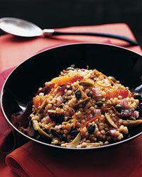 Fregola with Blood Oranges and Sicilian Olives Recipe on Food & Wine