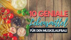 Du möchtest Muskeln aufbauen, erzielst aber keine Resultate? Diese 10 genialen Lebensmittel sind die besten Eiweißquellen um dich ans Ziel zu bringen.