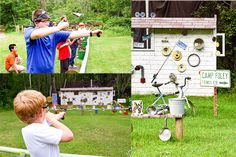 Camp Activities | Slingshot Range