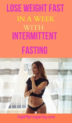 Intermittent Fasting for Weight Loss - Lose weight in a week with intermittent fasting. I have written an educational guide on Intermittent fasting for Beginners. Intermittent fasting carries the same significance as exercise and is primitive. Start Losing Weight, Lose Weight In A Week, Diet Plans To Lose Weight, How To Lose Weight Fast, Loose Weight, Reduce Weight, Weight Gain, Body Weight, Weight Loss Drinks