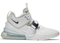 fa95ef69b5ef Check out the Air Force 270 White Metallic Silver available on StockX Gym  Fitness