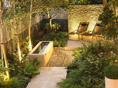 Contemporary London Garden perfect for entertaining and getting away