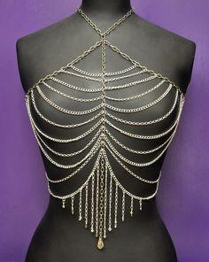 Helen's spectacular chain & SWAROVSKI ELEMENTS body jewellery!