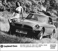 1977 model year MGB GT