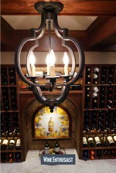 Wine Enthusiast has a great selection of custom cellars. We can design a cellar to fit your needs and enhance your collection! Wine Cellar Racks, Wine Rack, Cooling Unit, Wine Cellar Design, Wall Lights, Ceiling Lights, Wine Collection, Wine Storage, Design Consultant