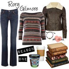 Rory Gilmore Season 1 - Polyvore