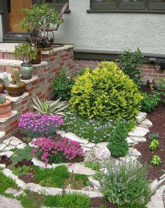 Ландшафтный дизайн — Разное | OK.RU Ground Cover Plants, Stepping Stones, Outdoor Decor, Garden, Home Decor, Garten, Interior Design, Gardening, Home Interiors