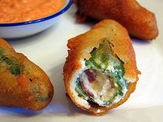 Greek jalapeno bites stuffed with pastrami, cream cheese and feta