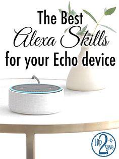 Amazon Echo Tips, Amazon Hacks, Alexa Dot, Alexa Echo, Alexa Tricks, Alexa Commands, Amazon Alexa Skills, Computer Basics, Computer Tips