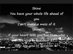 Birdy, shine, lyrics - YouTube