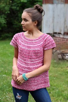 Free Crochet Pattern for a Mars Tee